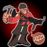 RED Soldier by Hyperwave9000