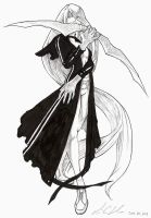 Girl in Black by Xenogia