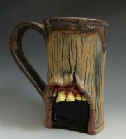 Unearthed Zombie Mug- FOR SALE by thebigduluth
