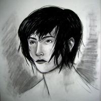 Girl in Charcoal by parisi