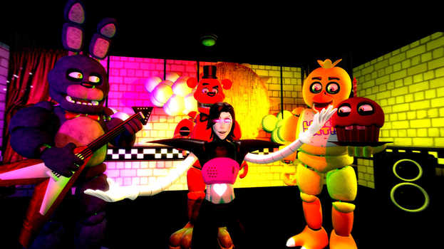 Superfluxgams 12 30 undertale x fnaf time to put on a real show