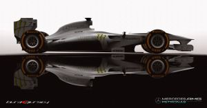 Mercedes F1 Car Concept Design * F4 by bgursoy