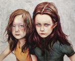 Kierra and DArcy by MichaelShapcott