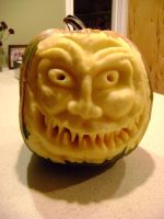 Jarvis the Doom Pumpkin by ChaoticInsanity13
