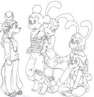 Disney) thing I drew that turned into a story idea by BobsCookie