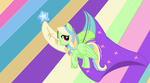 My Little Pony OC Crescent Wing by Songal