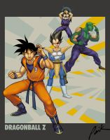 Dragonball Z: Childhood Heroes by paik