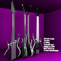 Tomas Mascinskas 8 String Signature Concept Design by TMProjection