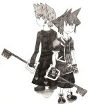The Brave Keyblade and the Nobody by Heartofwing
