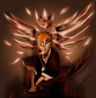 Ichigo-hollow-new-weapon-quincy-vollstandig-color by Ayce104