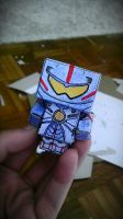 Mini Gipsy Danger Cubeecraft (Pacific Rim) by awesome-Kathi