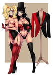 [c] Harley and Zatanna by lufidelis