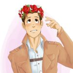 Marco flowercrown by Moonshine586