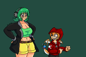 EMERALD AND CARVAL GO TO WHITE CASTLE by SHITFORBRAINSCHAN