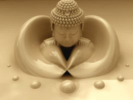 BirthofBuddha by pazoozoo