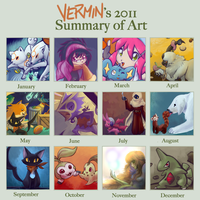 2011 Art Summary Meme thinger by VerminFu