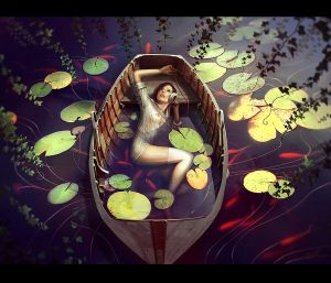 Boat by kidy-kat