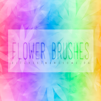 Flower Brushes by BitchesImAwesome