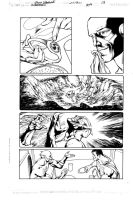 Superman 709 Page 13 Inks by JPMayer