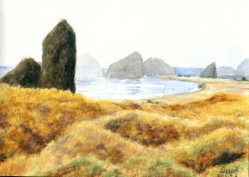 15.04.02 impression of Iceland_watercolor by Lunabow
