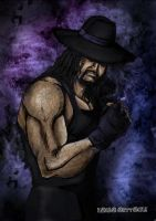 The Undertaker WWE by KarbaArttacke