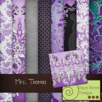Mrs.Thomas-paper street designs by paperstreetdesigns