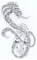 chain snake by markfellows