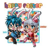 Happy Easter Bob and Cathy by Psy-CHO-Aoi