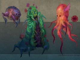 Creatures_01 by FirstKeeper