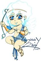 Blue Cupid by Sunny-X-Ray