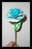 Duct Tape and Gingham Rose by DuckTapeBandit