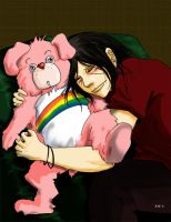 Itachi and Care bears by xyz263103