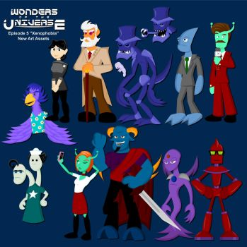 Wonders 5: New Characters by LegendaryFrog