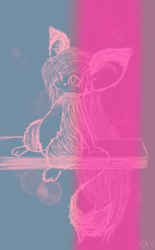 morning sketch color effects by Kayjoythefirst