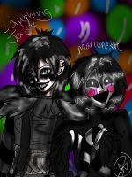 Creepypasta vs Fnaf by Shadow-Demon678