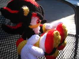 Shadow the Hedgehog Amigurumi by bs-odile