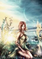 Eve in Eden by Uryen
