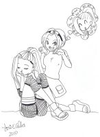Ino is a bad girl by Lori by Q99