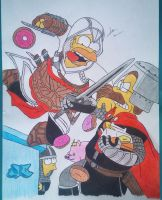 Homer assassin's by kaser16