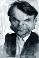 Sam Neill, by Jeff Stahl by JeffStahl