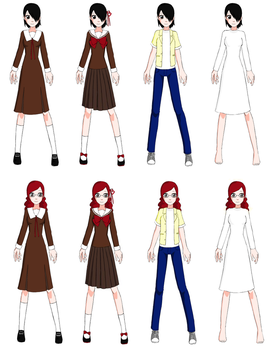 AT4W Margaret Outfits by mistyfoxx244