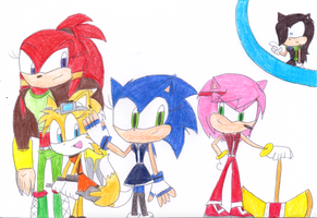 Sonic4Ever (Genderbent version) by sonic4ever760