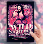 Wild Night Out Party Flyer by sorengfx
