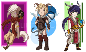 Adopts 002 OPEN: #1 Left (Reduced Price) by RuuRuu-Chan