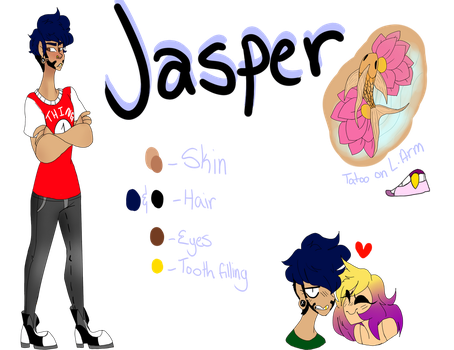 Jasper ref by Illiterate-Swine