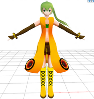 [MMD] SONiKA WIP 2 by Calculated-Lie