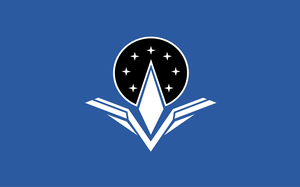 Flag of the Alliance of Free Stars by KingWillhamII