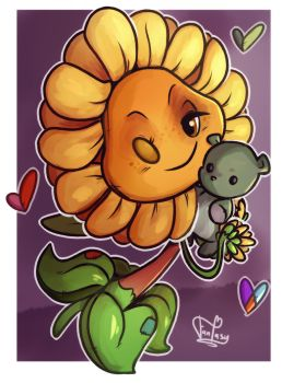 Toy Sunflower by Call-Me-Fantasy