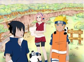 NaruFest Collab: Pestering Panda by mysimpleme14