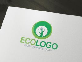 Eco logo by LiveAtTheBBQ